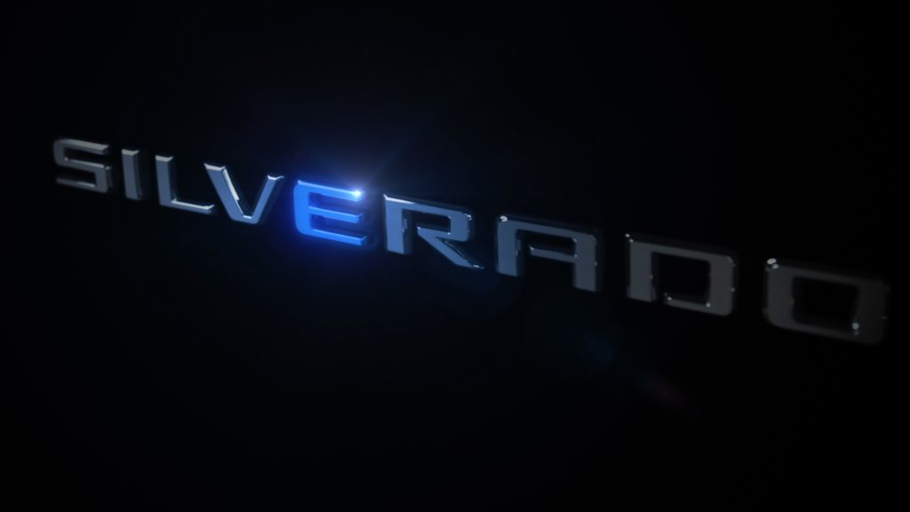 Chevrolet Silverado Electric Truck