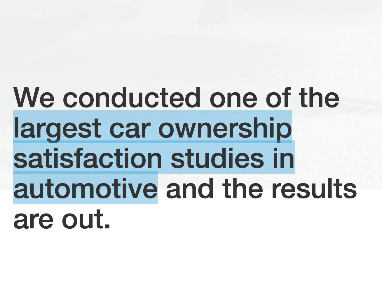 Lamborghini, Rolls Royce, Tesla, McLaren, Ferrari, Porsche and Genesis lead the car ownership satisfaction rankings released by Driverbase. The best c